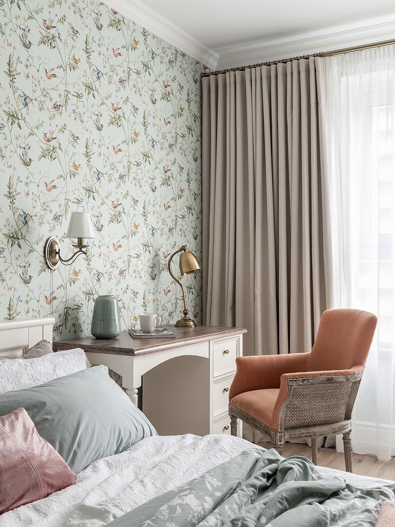 Detalii clasice - Design interior tapet