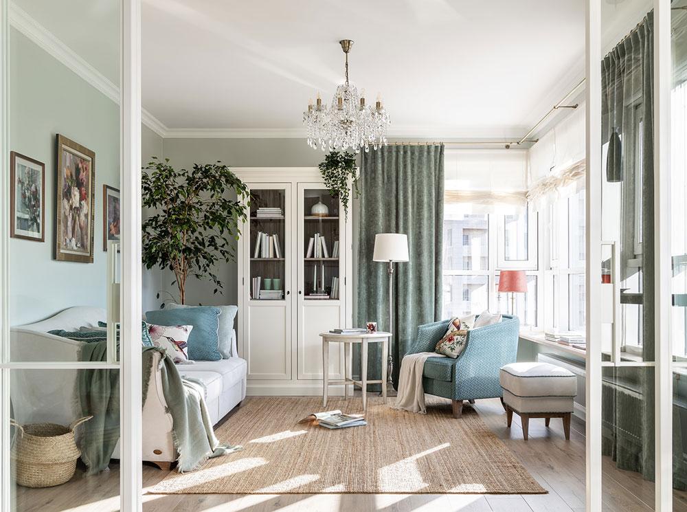 Design interior - living clasic