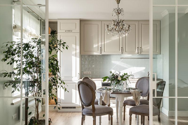 Detalii clasice - Design interior bucatarie