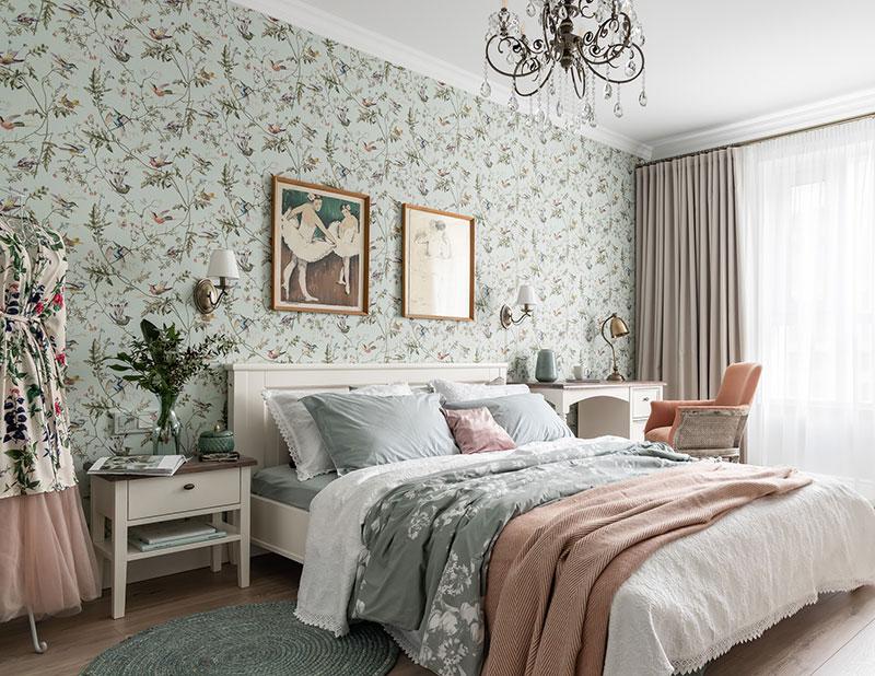 Detalii clasice - Design interior dormitor