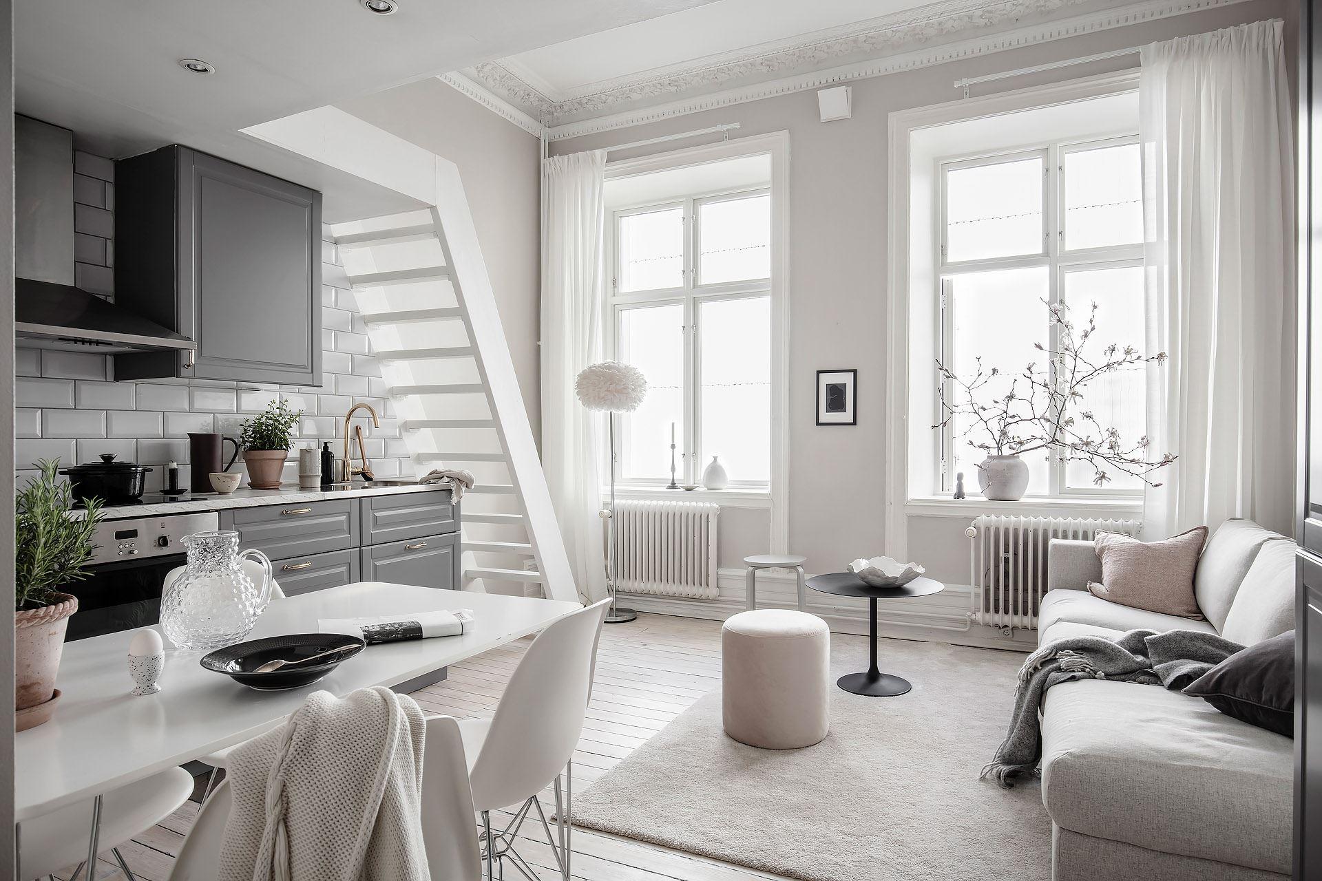 Pat suspendat într o garsonieră de 22 m² din Suedia 9