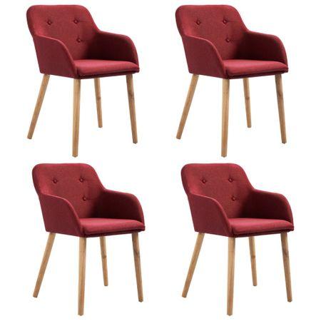 Set 4 scaune grena