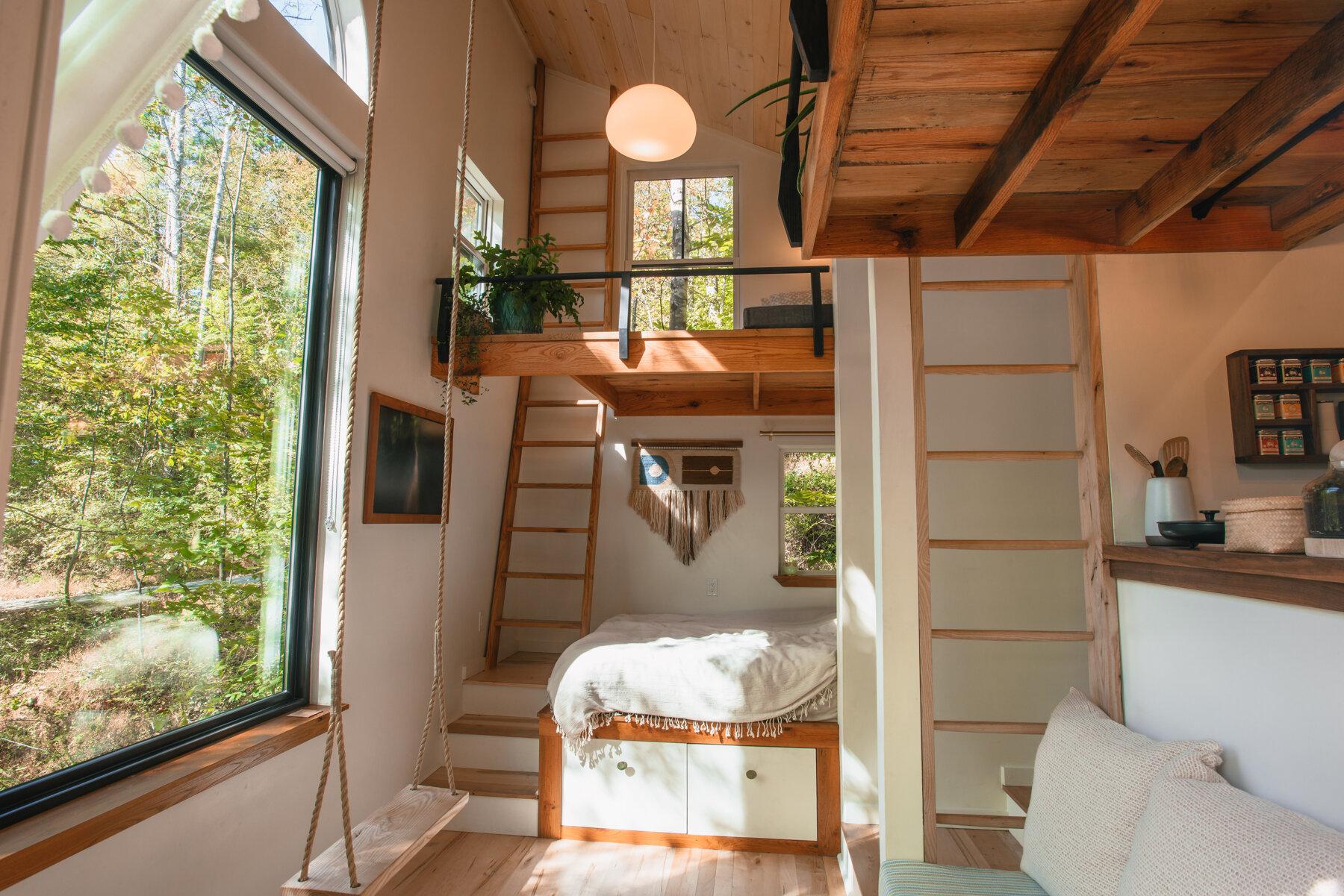 Căsuță în pădure de numai 37 m² cuibul perfect pentru o vacanță în doi 12