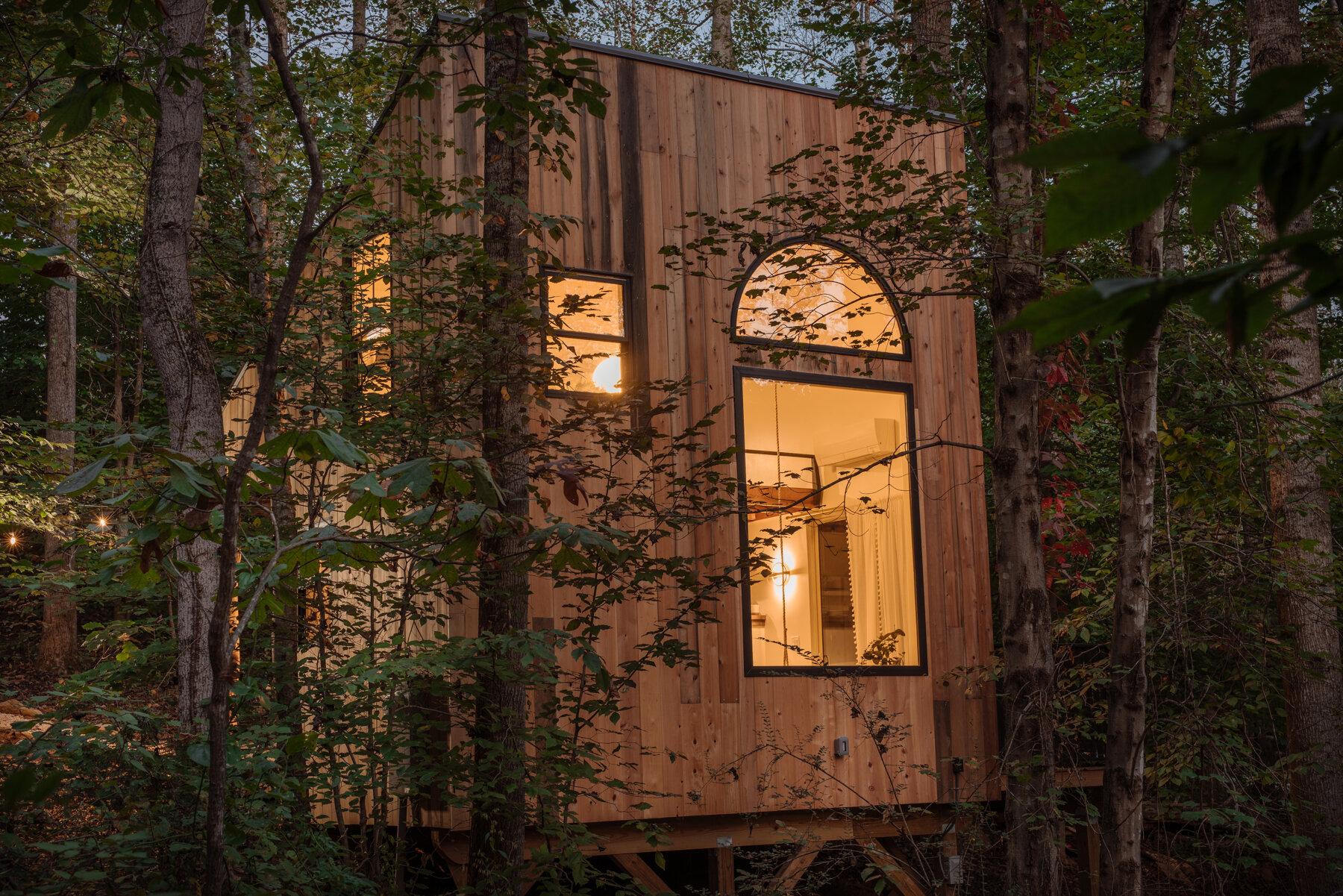 Căsuță în pădure de numai 37 m² cuibul perfect pentru o vacanță în doi 2