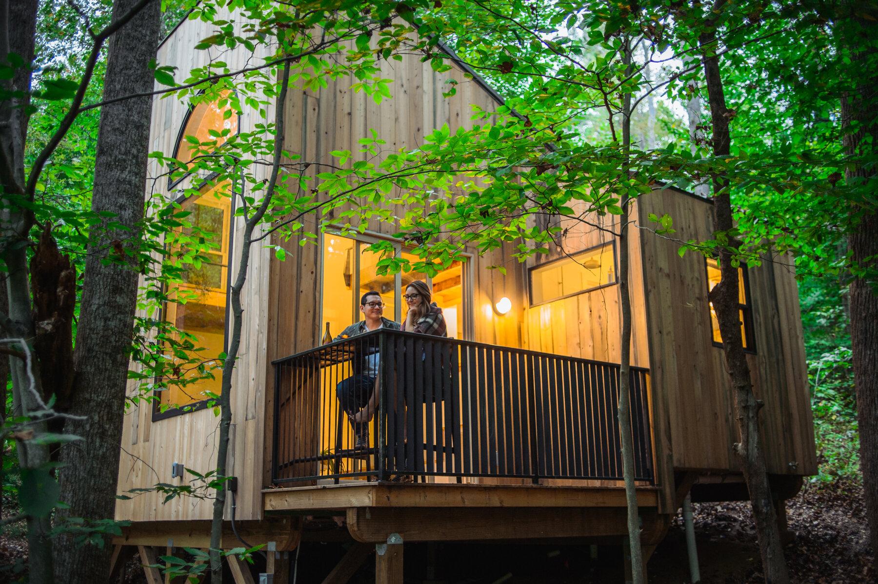 Căsuță în pădure de numai 37 m² cuibul perfect pentru o vacanță în doi 3