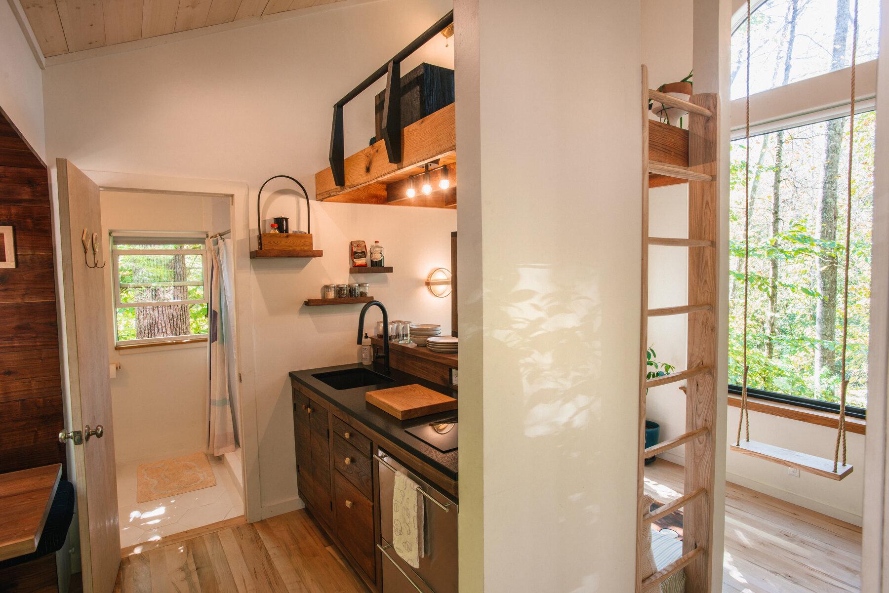 Căsuță în pădure de numai 37 m² cuibul perfect pentru o vacanță în doi 6