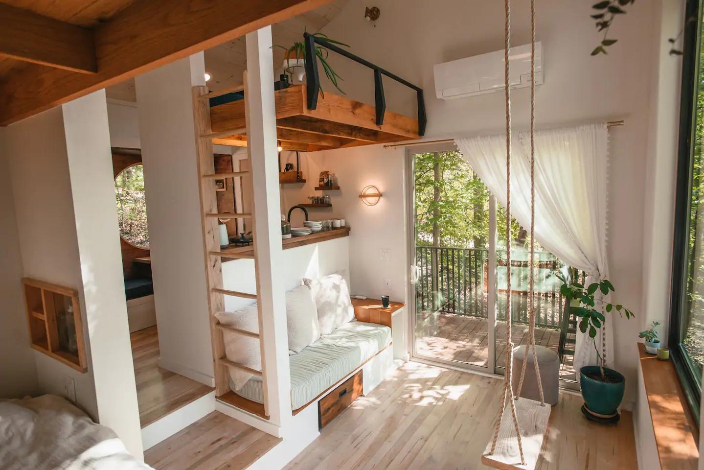 Căsuță în pădure de numai 37 m² cuibul perfect pentru o vacanță în doi 7