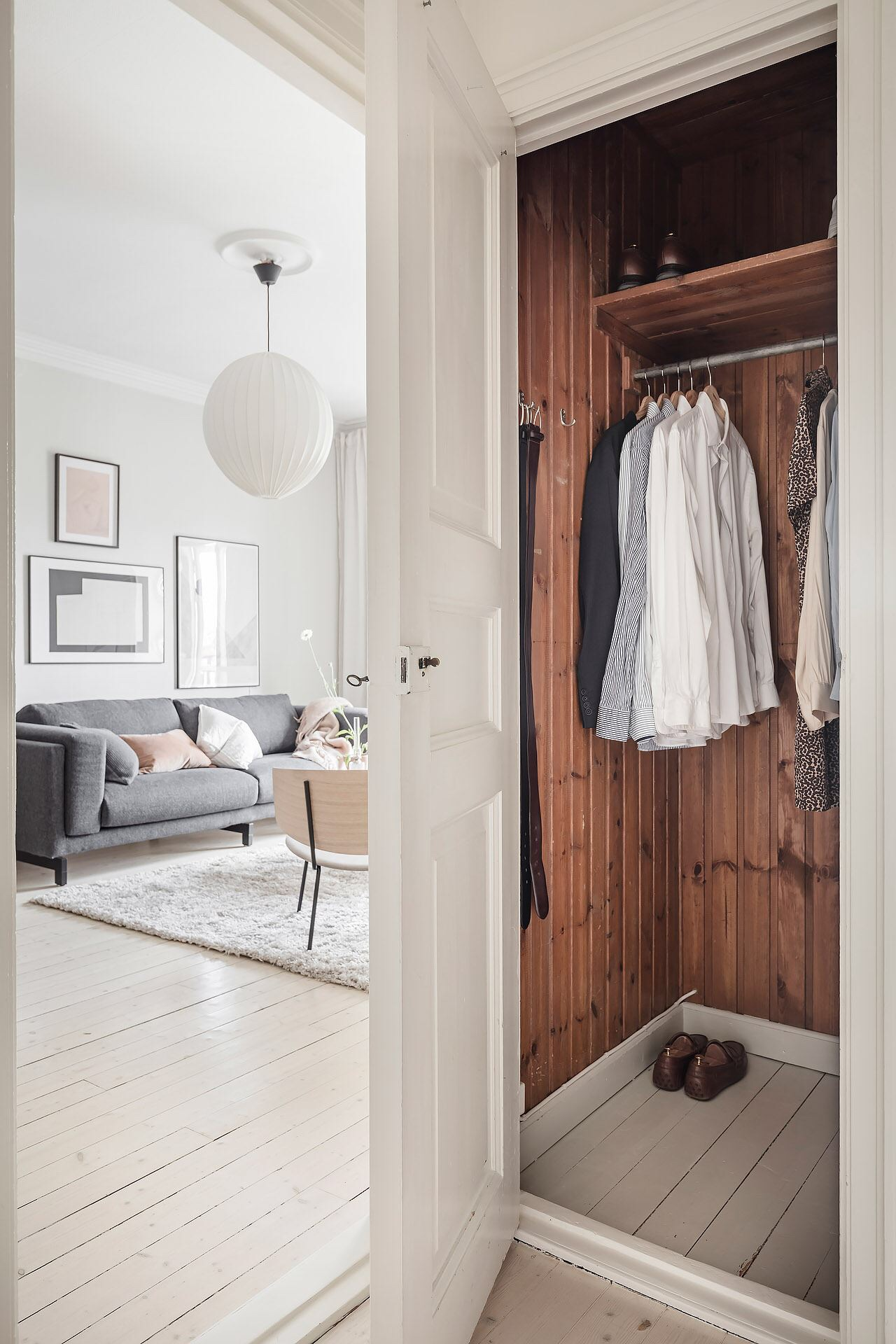 Cromatică relaxantă și decor scandinav într un apartament de 50 m² 18