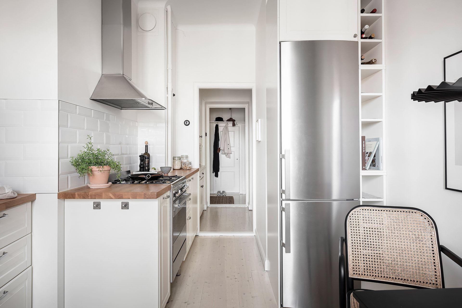 Cromatică relaxantă și decor scandinav într un apartament de 50 m² 22