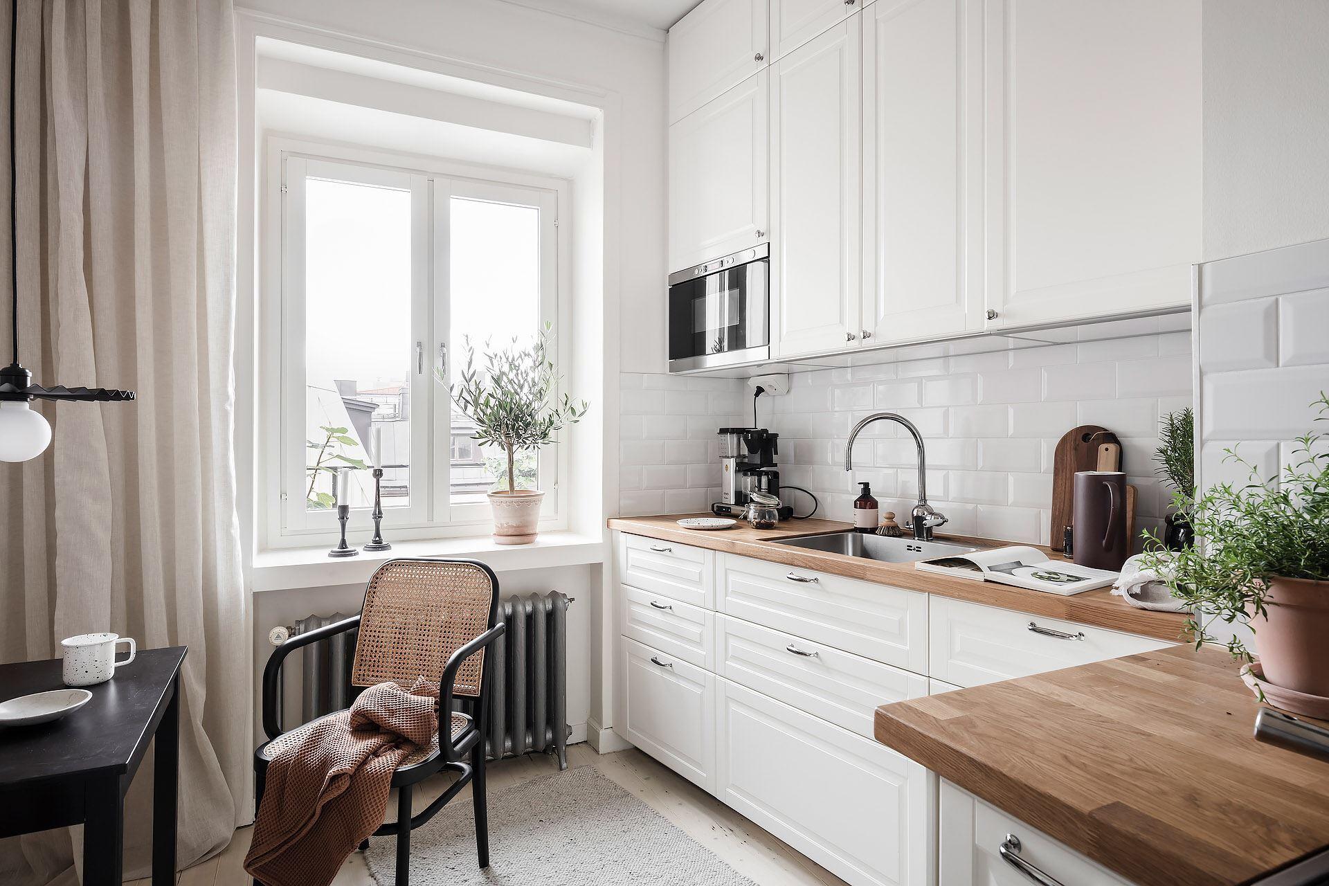 Cromatică relaxantă și decor scandinav într un apartament de 50 m² 25
