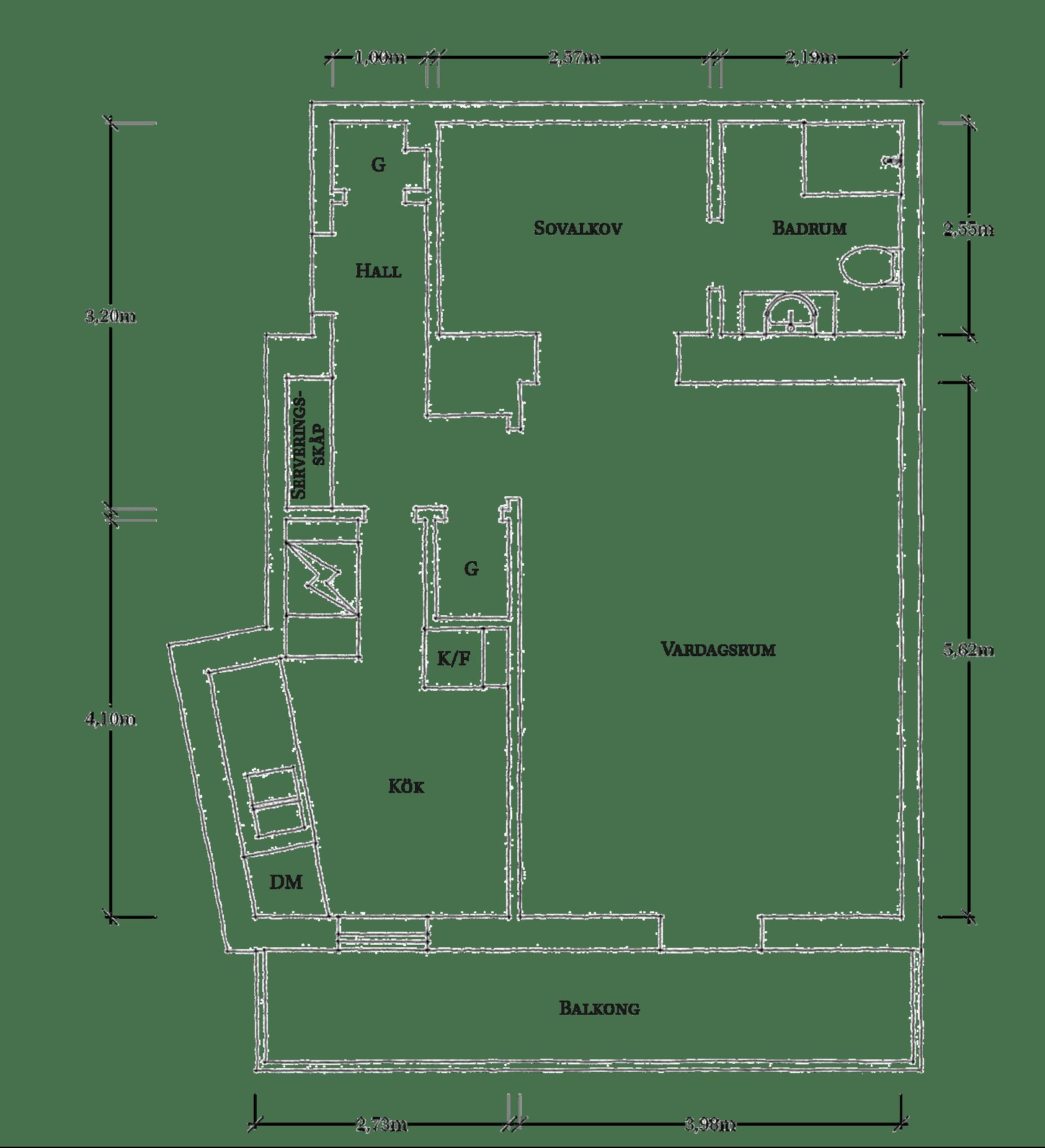 Cromatică relaxantă și decor scandinav într un apartament de 50 m² 32