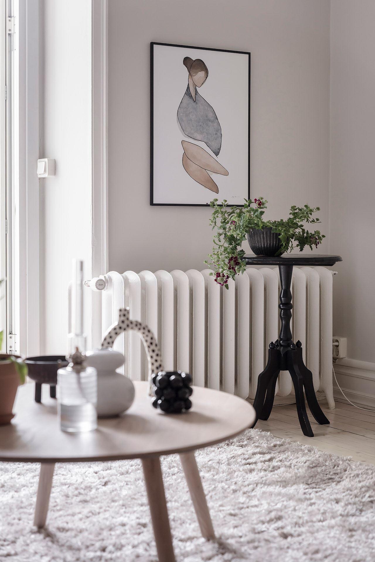 Cromatică relaxantă și decor scandinav într un apartament de 50 m² 4
