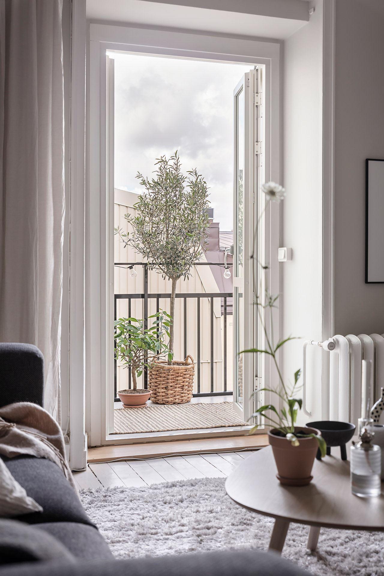 Cromatică relaxantă și decor scandinav într un apartament de 50 m² 7
