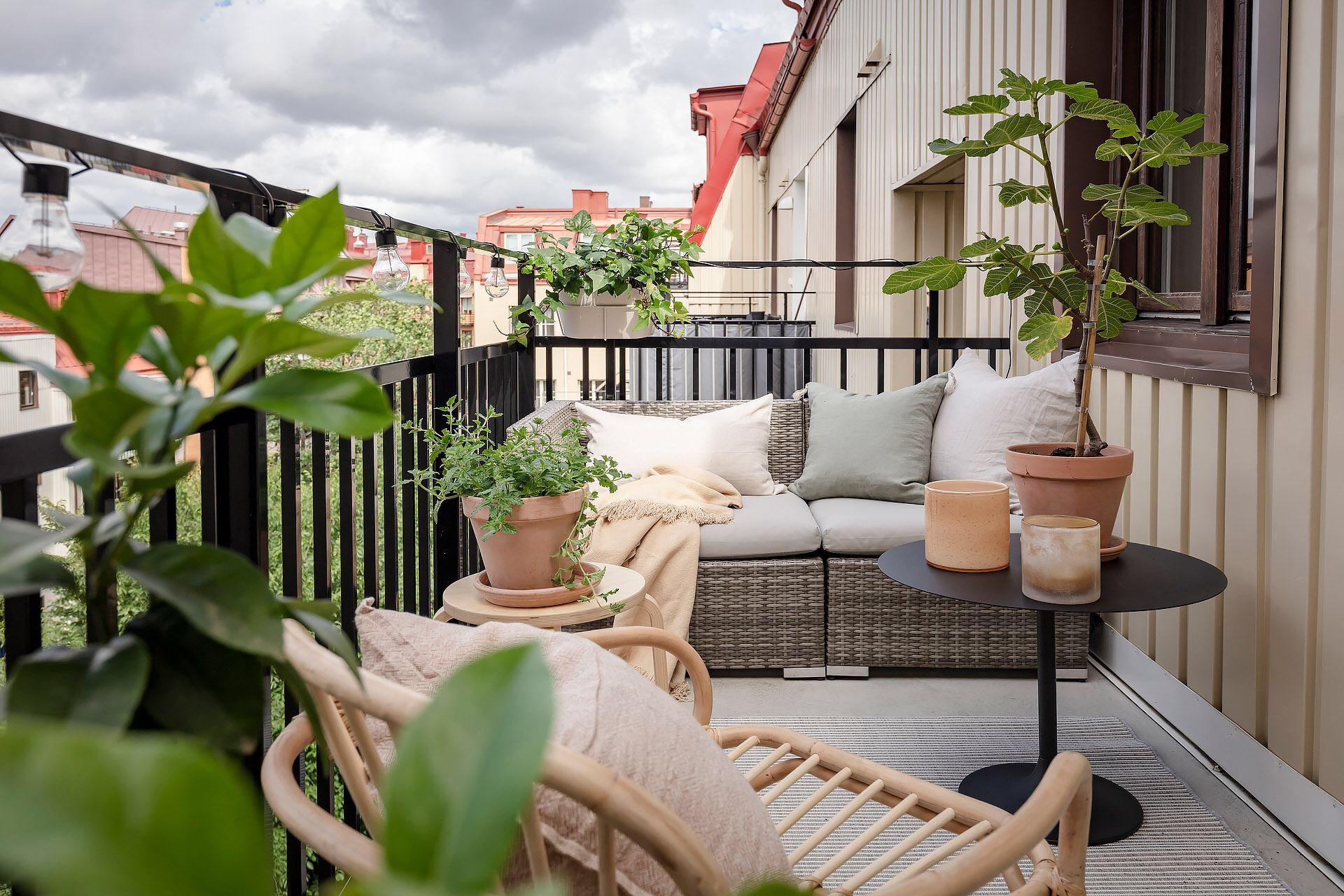 Cromatică relaxantă și decor scandinav într un apartament de 50 m² 9