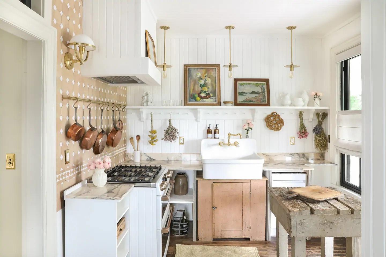 Decor vintage și eleganță de inspirație franceză într o casă din Hudson New York SUA 1