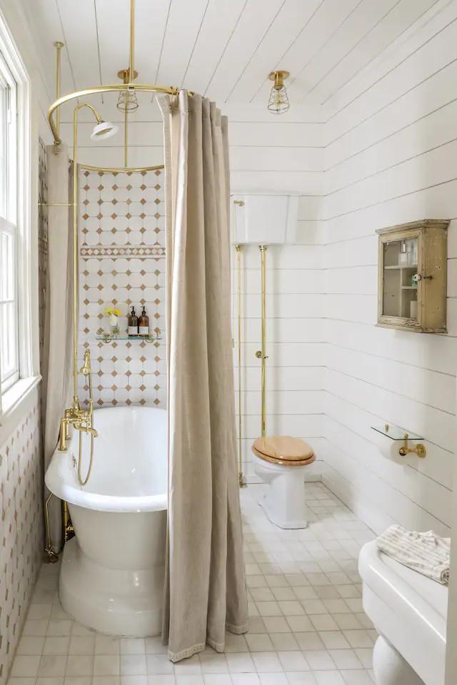 Decor vintage și eleganță de inspirație franceză într o casă din Hudson New York SUA 11