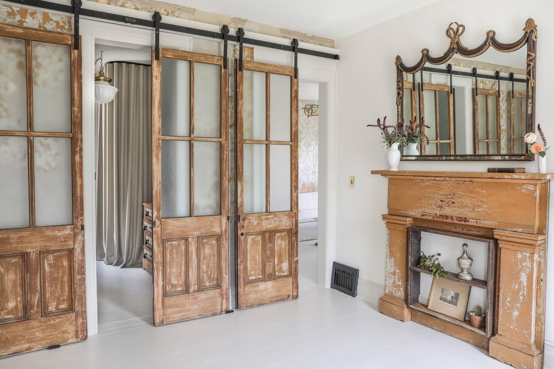 Decor vintage și eleganță de inspirație franceză într o casă din Hudson New York SUA 15
