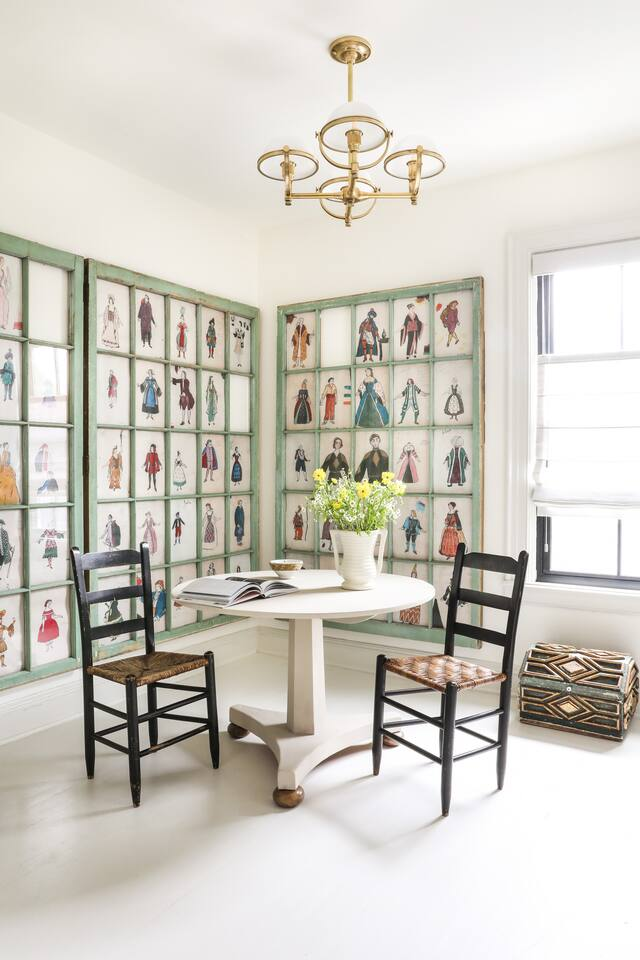 Decor vintage și eleganță de inspirație franceză într o casă din Hudson New York SUA 8