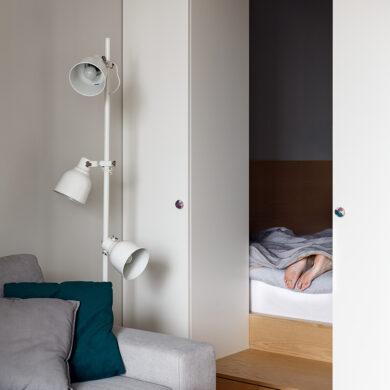 Dormitor în nișă