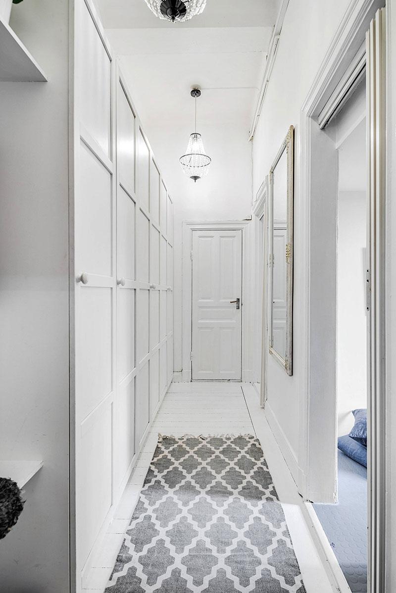 Două dormitoare la mezanin într un apartament de 55 m² 14