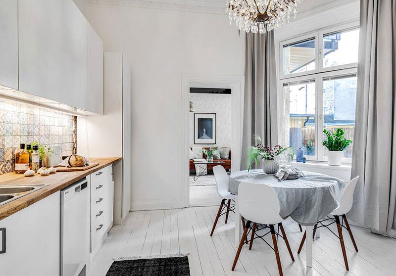 Două dormitoare la mezanin într un apartament de 55 m² 8