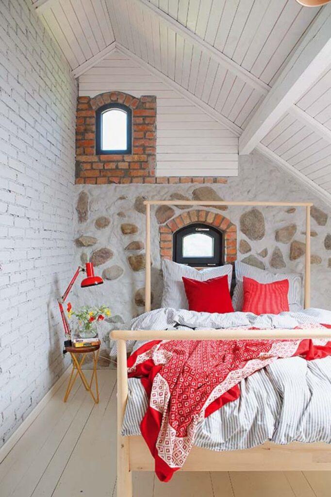 Decor rustic boem și colorat într o casă din Ełk Polonia 13