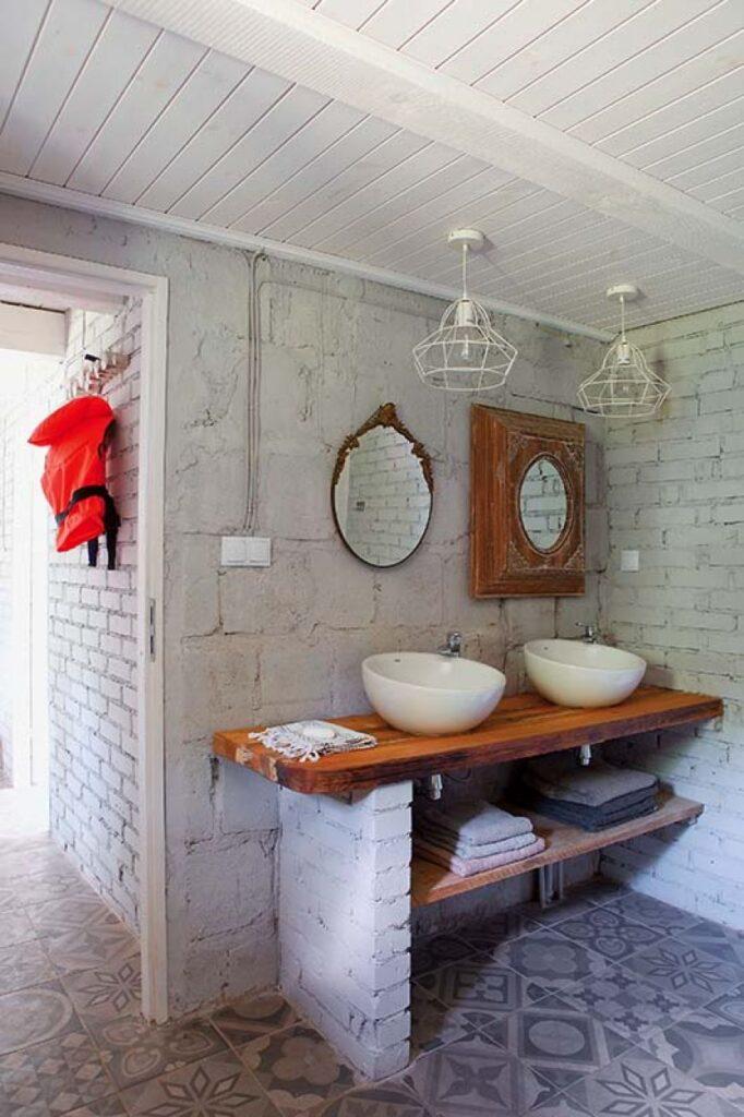 Decor rustic boem și colorat într o casă din Ełk Polonia 14