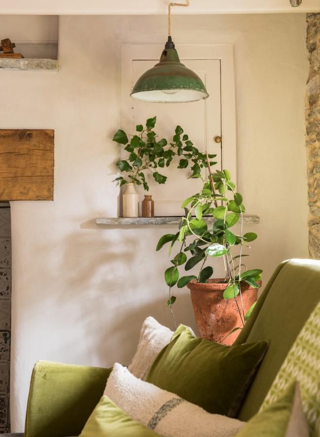 Decor rustic cu accente vintage într o casă de vacanță din Cornwall UK 3