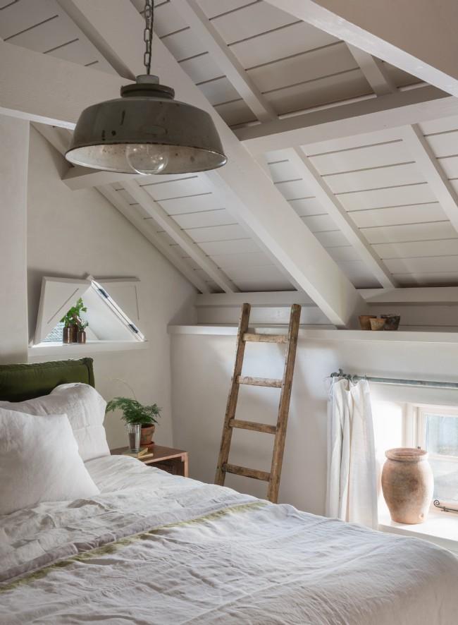 Decor rustic cu accente vintage într o casă de vacanță din Cornwall UK 9