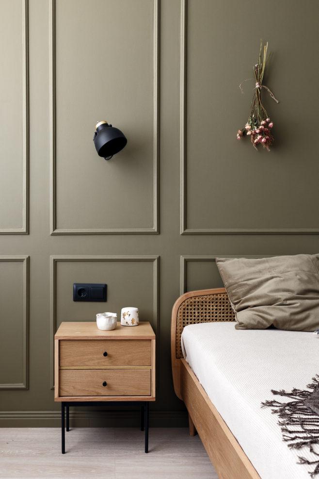 Living în bucătărie și culori de toamnă într o garsonieră de 44 m² din Sanct Petersburg 8