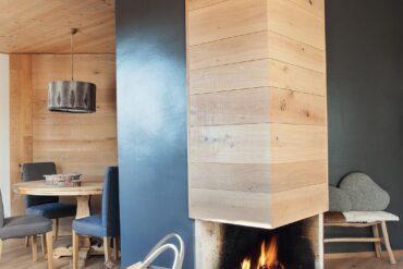 Tavan placat cu lemn