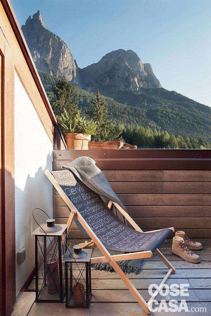 Tavan placat cu lemn într o mansardă de 75 m² din Siusi Italia 4