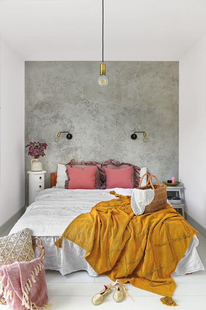 Accente galben muștar și lila într o casă din Polonia 11