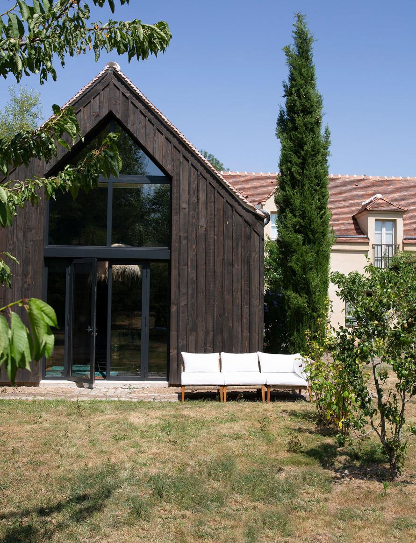 Amenajare și decor rustic într o casă construită nou construită 10