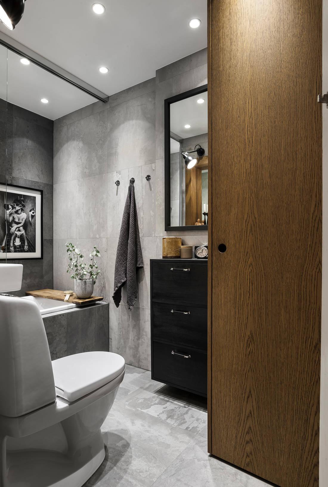 Detalii industriale și decor masculin într un apartament de 80 m² 10