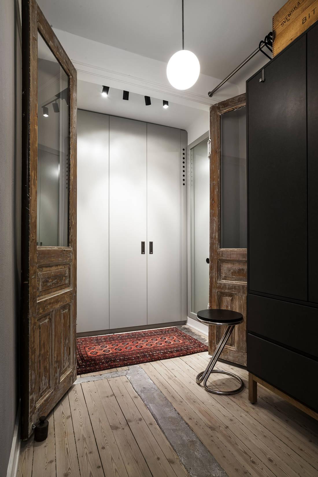 Detalii industriale și decor masculin într un apartament de 80 m² 11