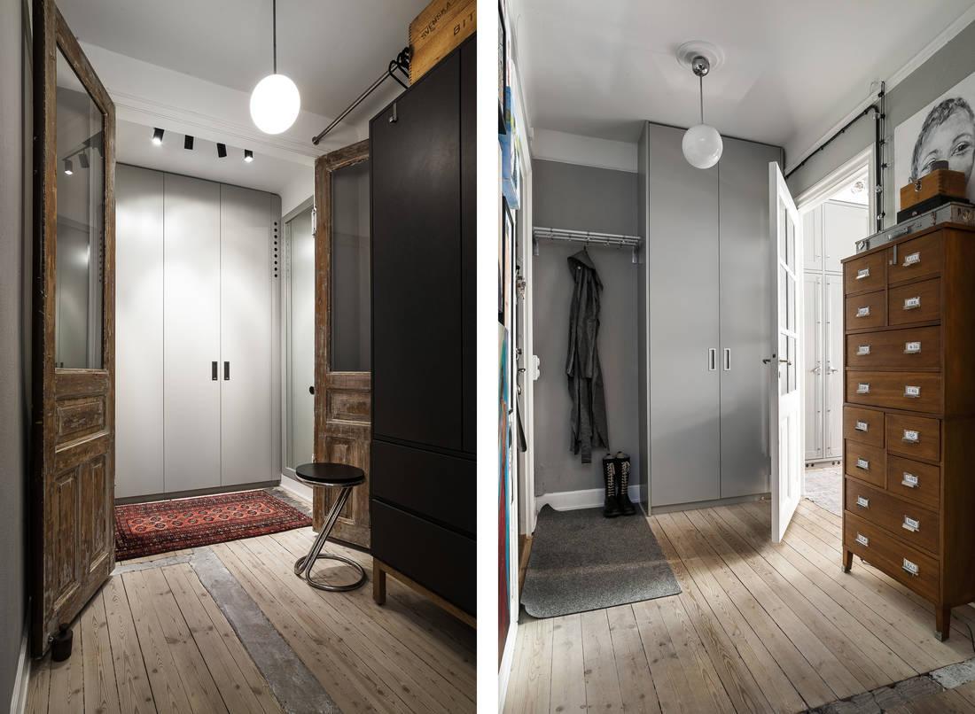 Detalii industriale și decor masculin într un apartament de 80 m² 12