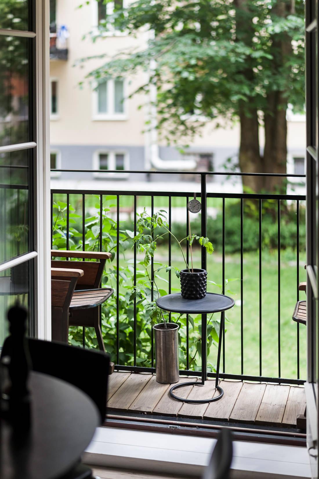 Detalii industriale și decor masculin într un apartament de 80 m² 13