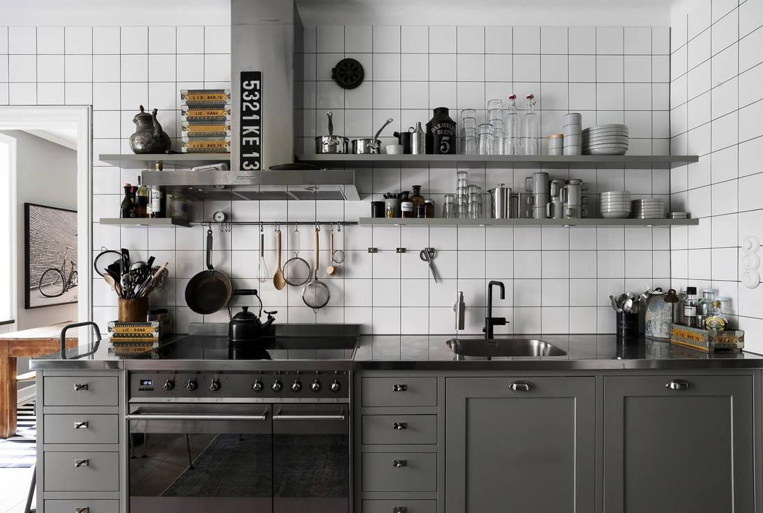 Detalii industriale și decor masculin într un apartament de 80 m² 2