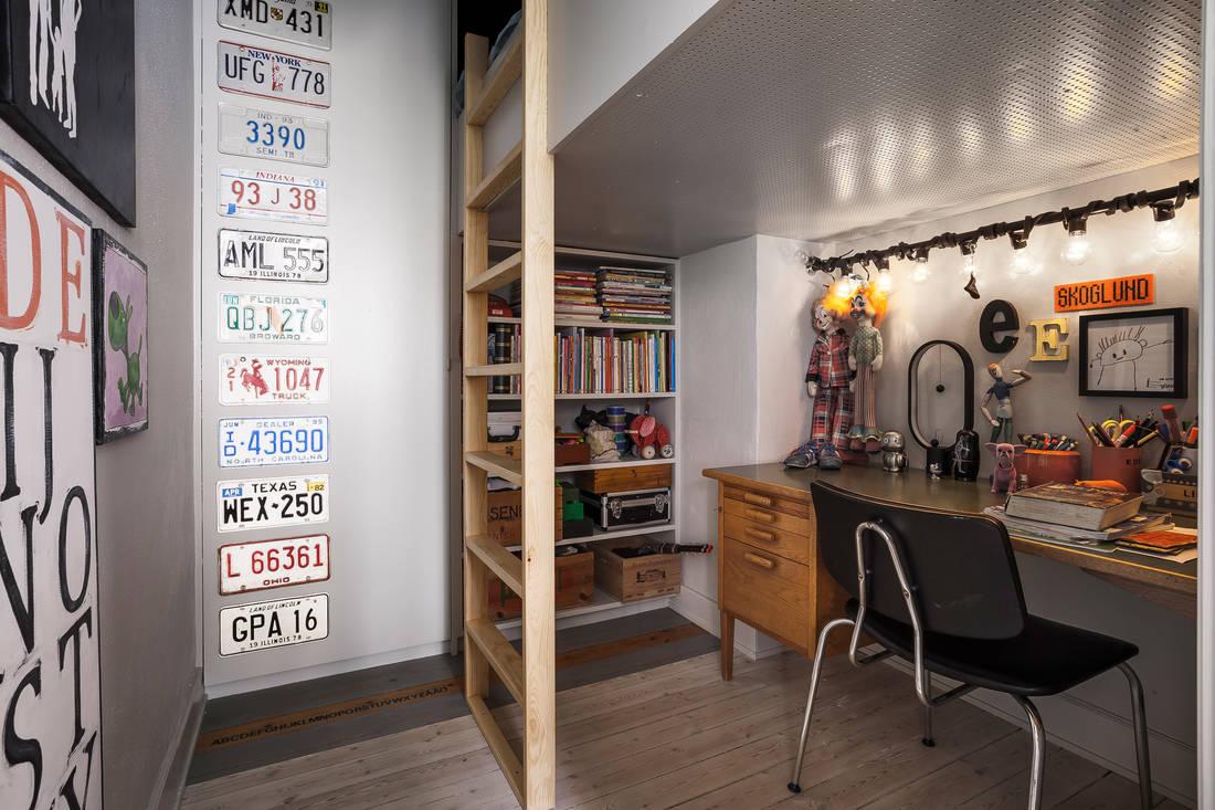 Detalii industriale și decor masculin într un apartament de 80 m² 7