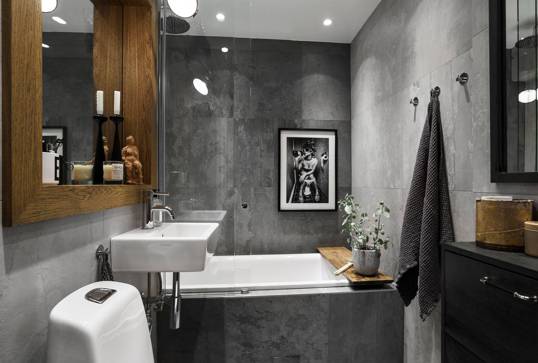 Detalii industriale și decor masculin într un apartament de 80 m² 9