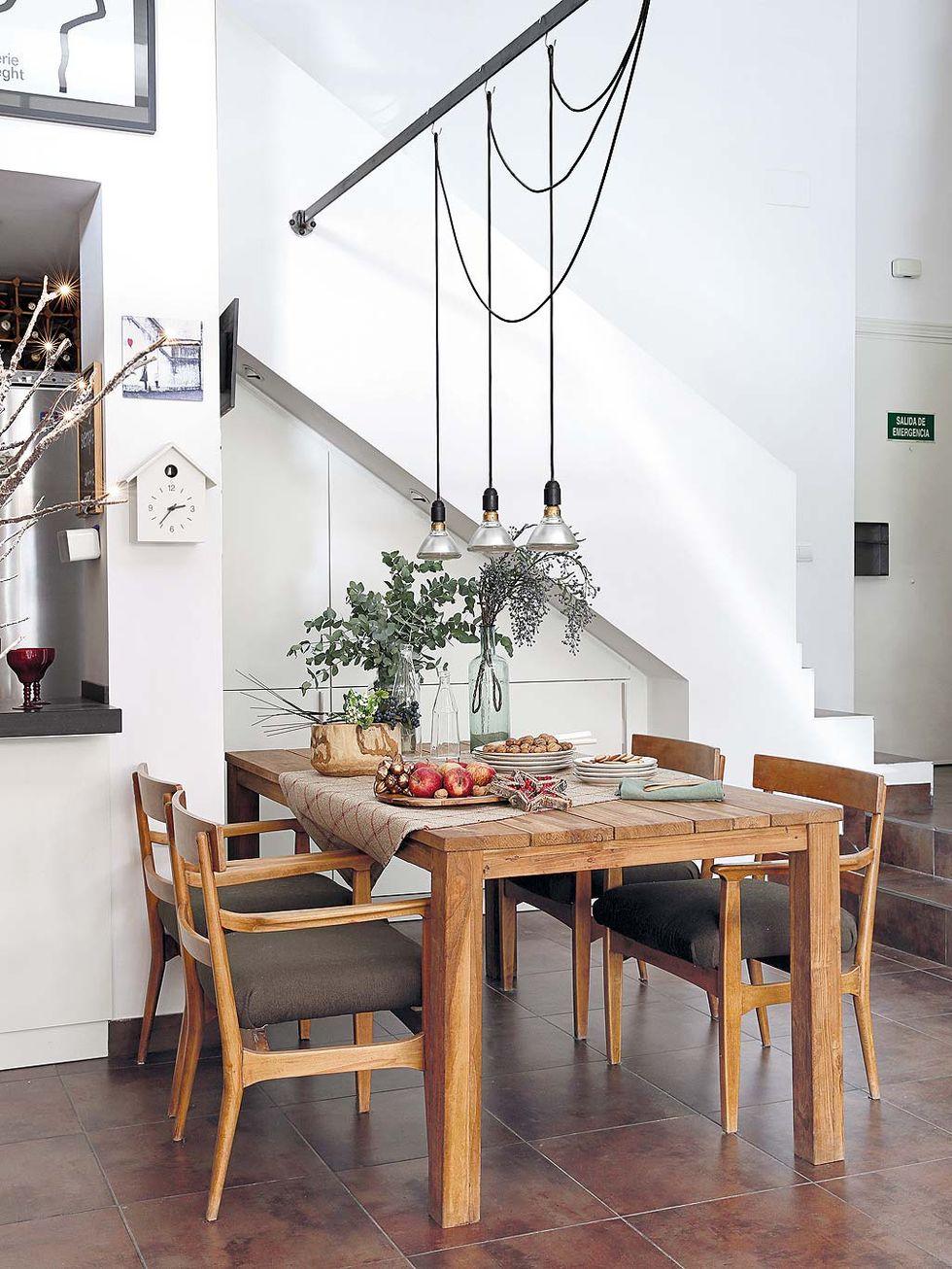Decor de Crăciun într un apartament pe două niveluri din Madrid 7