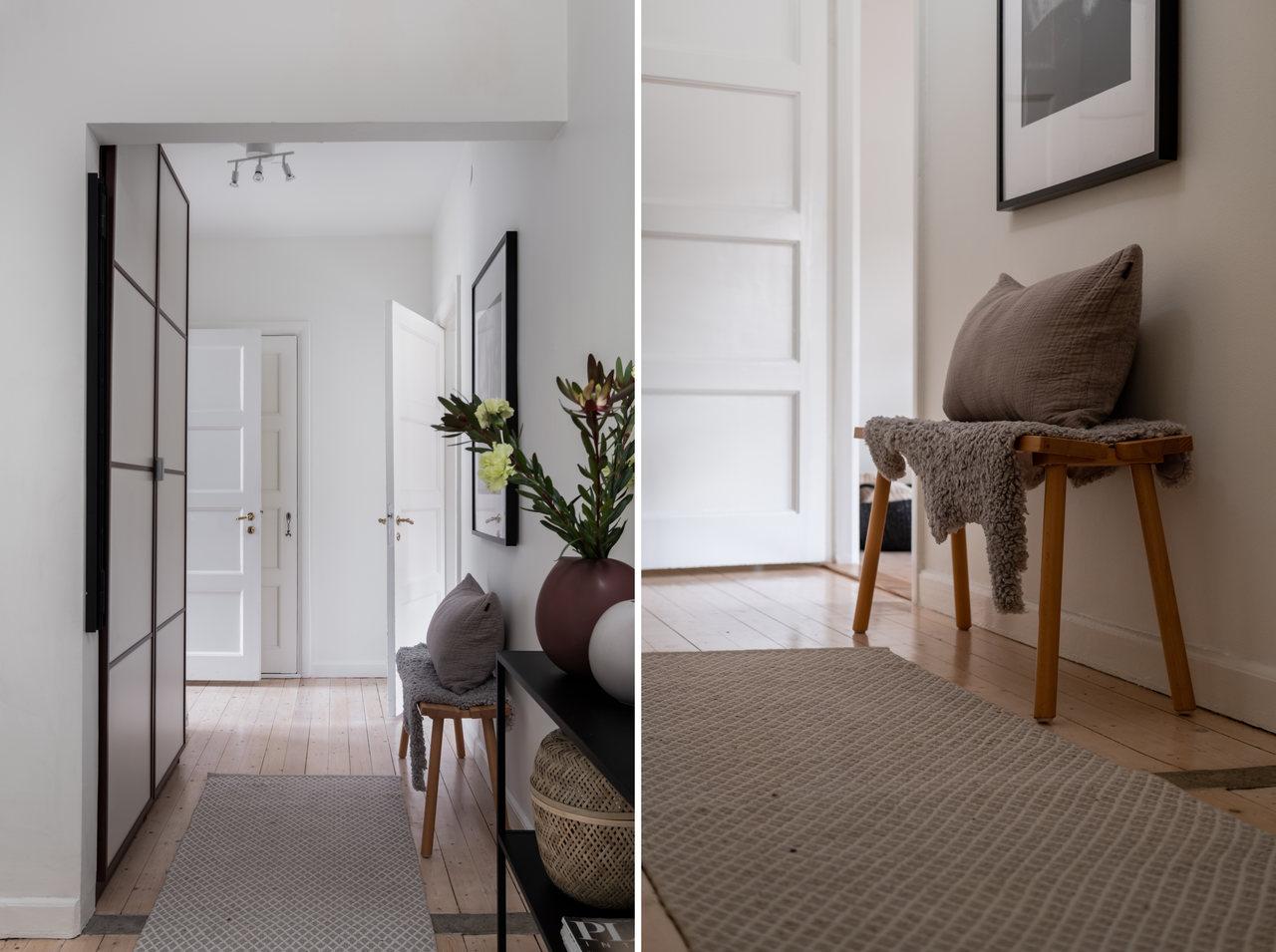 Motive etnice și accente calde de culoare într un apartament de 76 m² 14