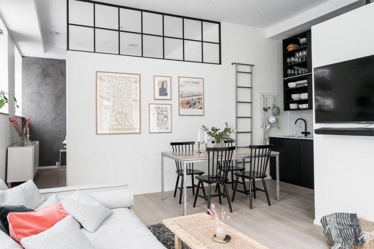 Spațiu comercial transformat în apartament